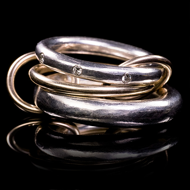 Spinelli Kilcollin Antares Linked Ring