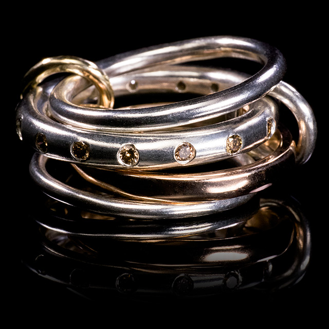 Spinelli Kilcollin Lyra Linked Ring