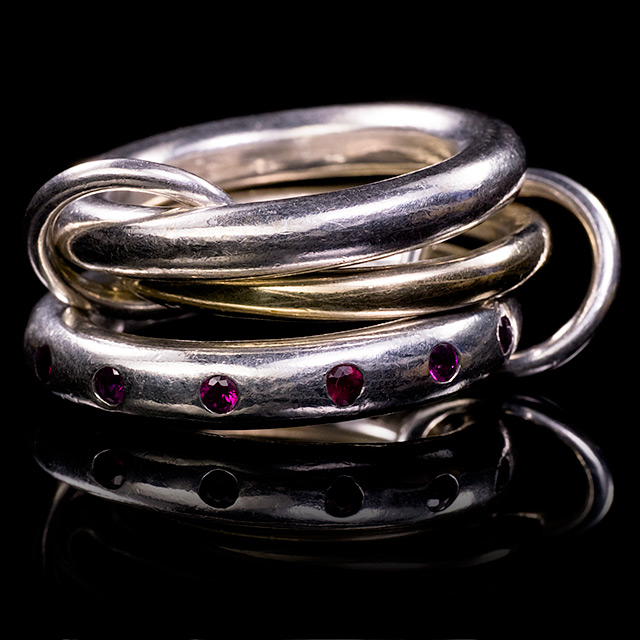 Spinelli Kilcollin Pyxis Linked Ring